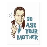 Vaya piden su postal de la madre