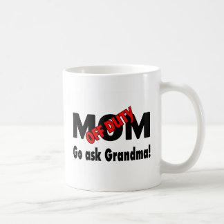 Vaya preguntan a abuela (la mamá fuera de taza clásica