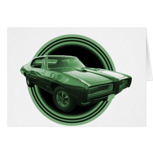 Vaya van GTO Tarjeta De Felicitación