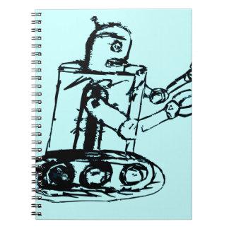vaya van robot libro de apuntes