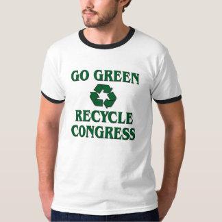 Vaya verde - recicle al congreso playera