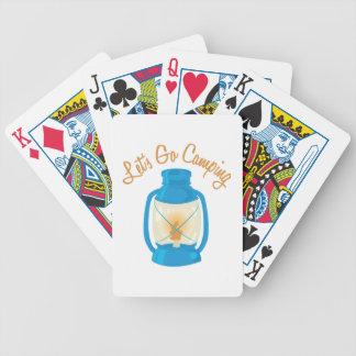Vayamos a acampar barajas de cartas