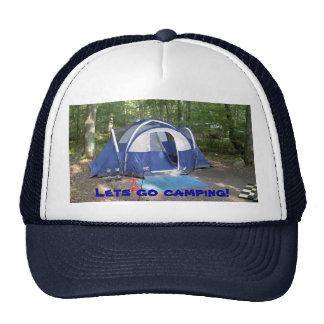 Vayamos a acampar gorras de camionero