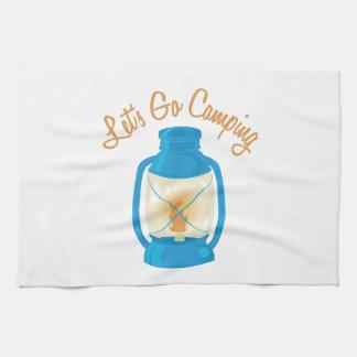 Vayamos a acampar toalla de cocina