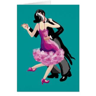 Vayamos a bailar felicitación