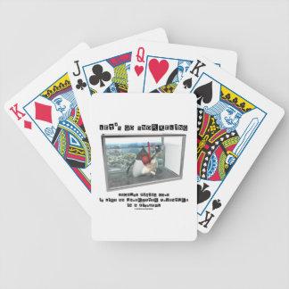 Vayamos a bucear porque el código de fijación es baraja de cartas