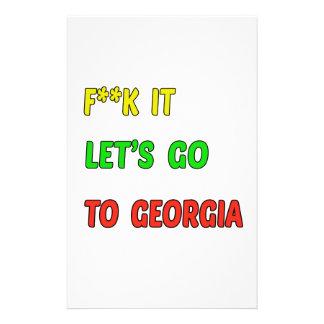 Vayamos a Georgia Papeleria
