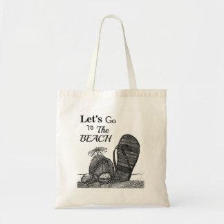 Vayamos a la bolsa de asas de la playa