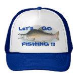 Vayamos a pescar el gorra de color salmón de la pe
