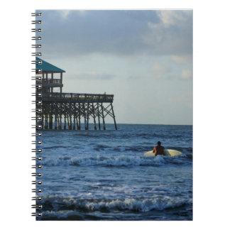 Vayamos a practicar surf spiral notebooks