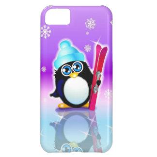 Vayamos caso de esquí del iPhone 5 Funda Para iPhone 5C