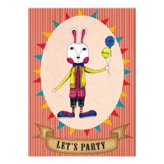 Vayamos de fiesta a Shawn - tarjeta de la invitaci