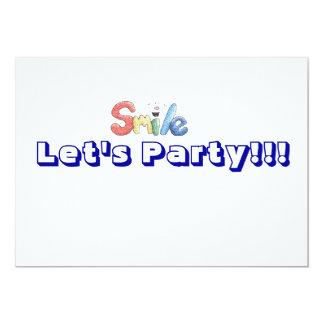 vayamos de fiesta la invitación