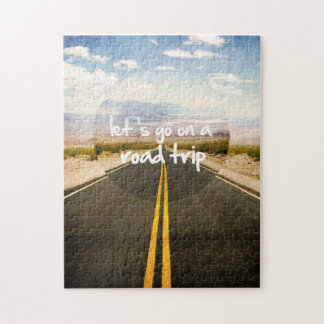 Vayamos en un viaje por carretera puzzle
