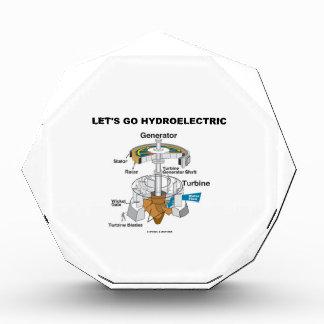 Vayamos hidroeléctricos (la turbina del generador)