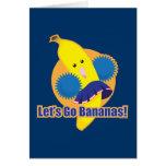 ¡Vayamos los plátanos! Felicitaciones