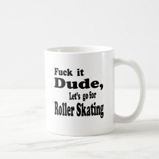 Vayamos para el patinaje de rodillo