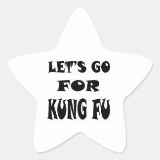Vayamos para KUNG-FU