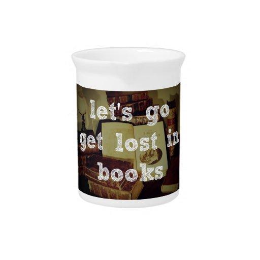 Vayamos se pierden en libros jarron