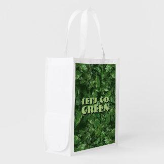 Vayamos verde bolsas reutilizables