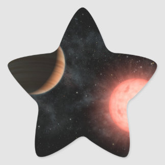 VB 10 Alien Dwarf Star Planet Space Star Sticker