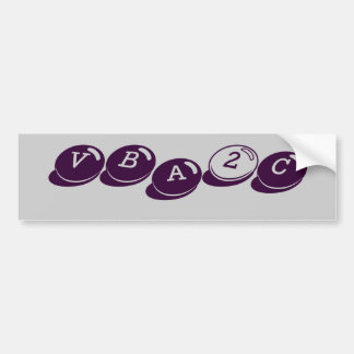 VBA2C BUMPER STICKER