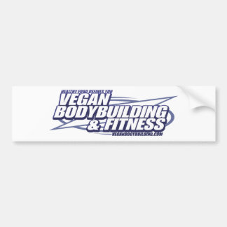 VBB_logo Vegan Bodybuilding Bumper Sticker