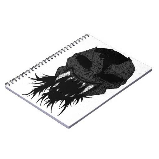 vBlack y blanco del cuaderno de SandDevil