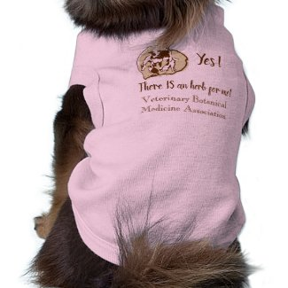 "VBMA ""Yes! There IS an herb for me"" dog sweater Shirt"