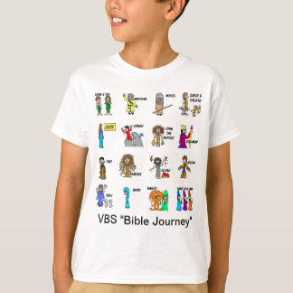 VBS Bible Journey Shirt For Kids