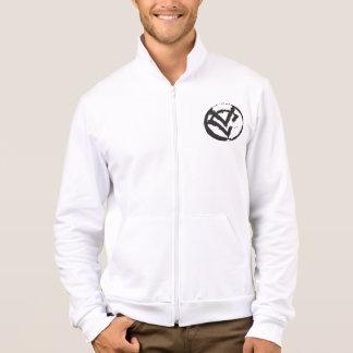 VC chaqueta del basculador del paño grueso y suave