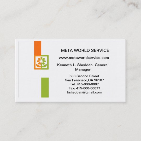 VCard QR-CODE Business Card
