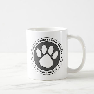 VCAS Logo #2 - Black & White w/ Dark Grey Coffee Mug