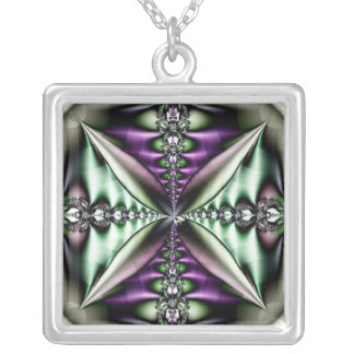 Vchira1068 Silver Plated Necklace