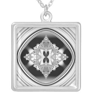 Vchira719 Silver Plated Necklace