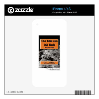 VCVH Books Skins For iPhone 4S
