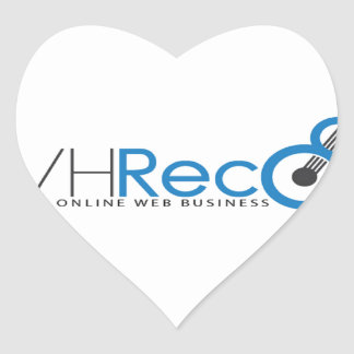 VCVH Records Clothings Heart Sticker