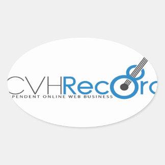 VCVH Records Clothings Oval Sticker