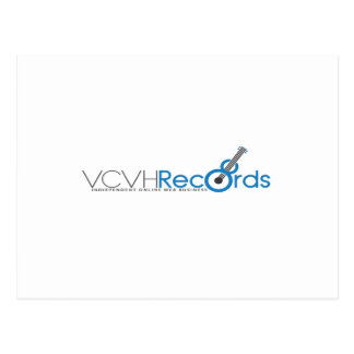 VCVH Records Clothings Postcard