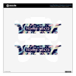 VCVHRecords  Funky Beats PS3 Controller Skin