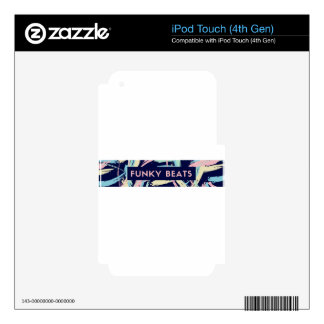 VCVHRecords  Funky Beats Skins For iPod Touch 4G