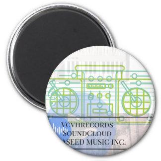 Vcvhrecords inc. (1) magnet