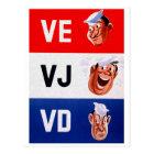 VD is no fun Postcard