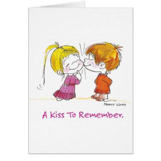 VDA-001 First Kiss Card