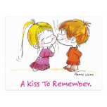 VDA-001 First Kiss Post Card