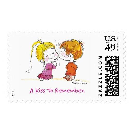 VDA-001 First Kiss Postage