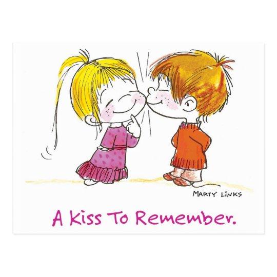 VDA-001 First Kiss Postcard