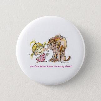 VDA-002 Puppy Love Pinback Button