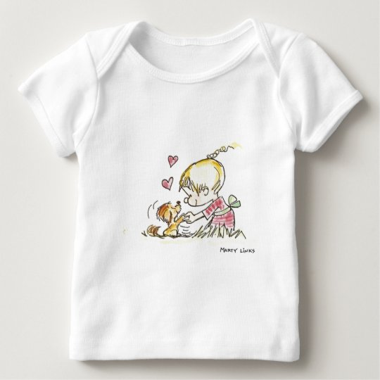 VDA-006 Doggy Devotion Baby T-Shirt