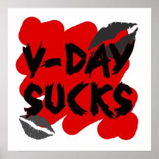 vday sucks poster